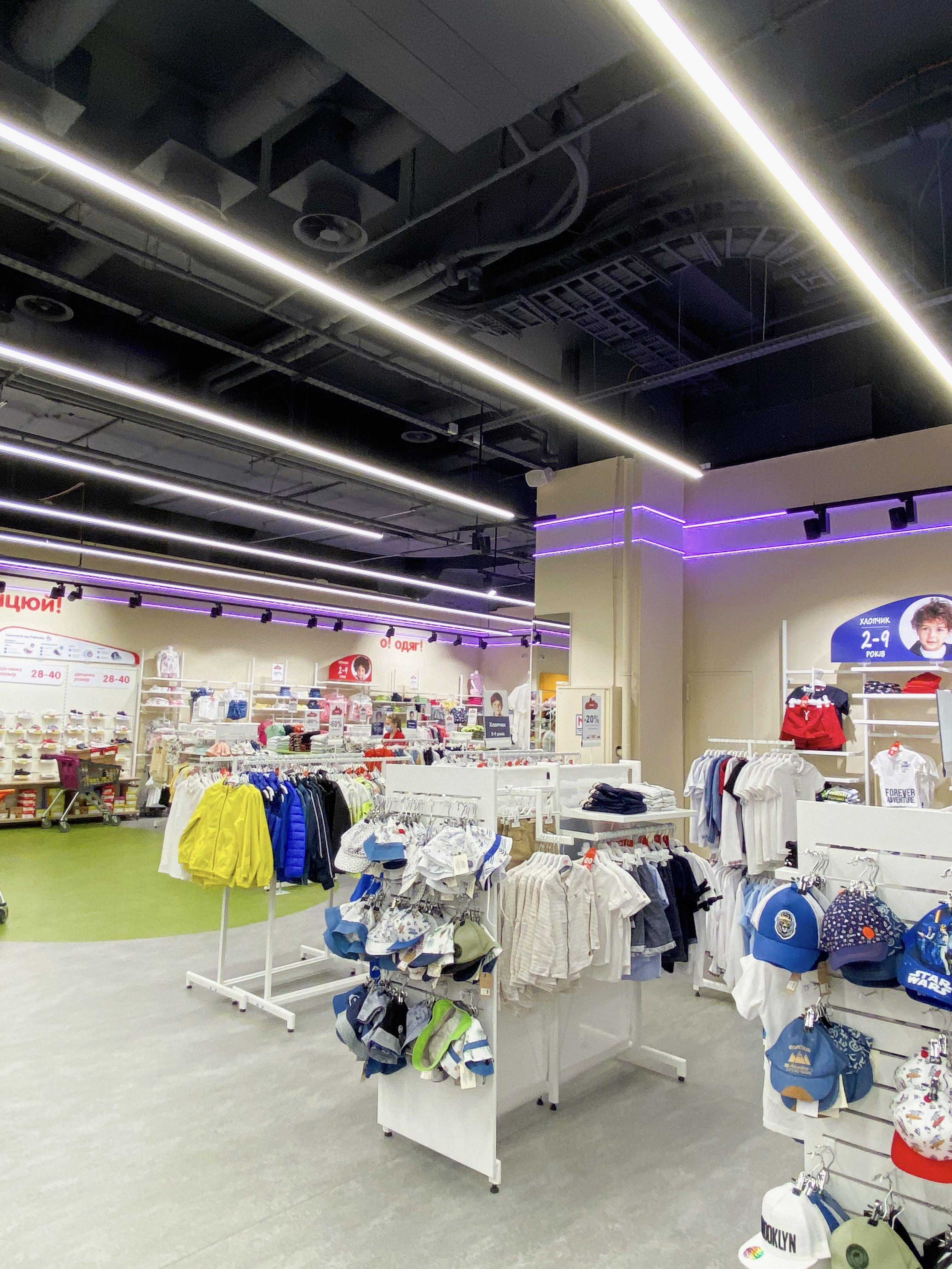 Світло Nova Light для магазину Антошка