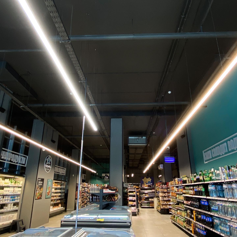 Nova Light Освітлення для магазину Sympatiс